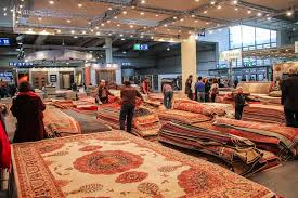 The Carpet Market Azerbaijani Carpets In U201cdomotex U201d Exhibition