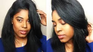 roller wrap hairstyle voluminous relaxed hair silk wrap roller set youtube