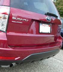 red subaru forester 2017 rear view camera install lots of pics custom non navi subaru