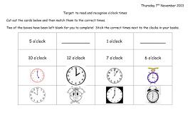 time worksheets by joop09 teaching resources tes
