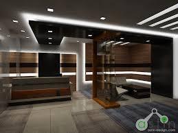 office reception wall interior design surprising software decor
