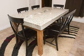 Granite Dining Room Tables by Narrow Dining Tables Homesfeed