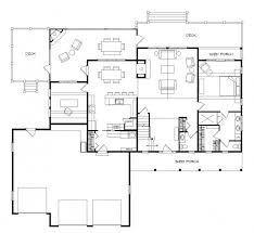 walkout ranch floor plans lake cabin plans with walkout basement mountain house small floor