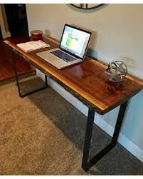 live edge computer desk memorial day sale your custom desk live edge desk black walnut desk
