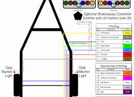 cargo trailer wiring diagram on free sle electric brakes new