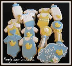 nanny u0027s sugar cookies llc cookie favors for a baby shower