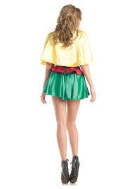 Female Robin Halloween Costume Womens Sidekick Costume