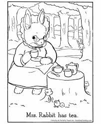 easter bunny coloring pages rabbit bunny coloring sheet