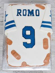 amy u0027s confectionery adventures dallas cowboys jersey cake
