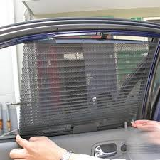 vip lexus curtains car window sunshade curtain black side rear window mesh visor