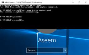 reset windows password phone lost or forgot administrator password in windows