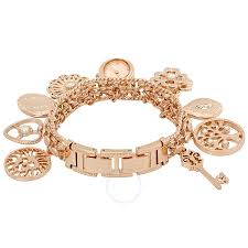 anne klein charm bracelet watches images Anne klein ladies charm bracelet watch 10 8096rmch anne klein jpg
