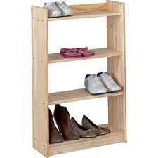 unfinished solid pine 4 shelf unit amazon co uk kitchen u0026 home