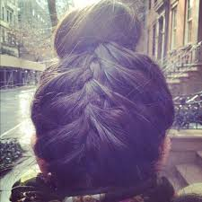 howtododoughnut plait in hair upside down french braid photo tutorial birchbox