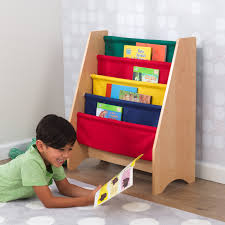 kidkraft sling bookshelf primary u0026 natural walmart com