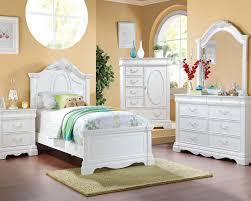 kids bedroom sets youth bedrooms acme girl s bedroom set estrella ac30240set