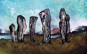 paintings prints the callanish standing stones callanish isle of lewis outer