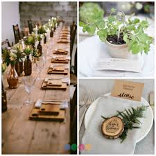 Unique Place Cards Plan An Eco Friendly Wedding Event Planner Certification