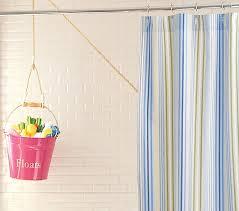 Stripe Shower Curtains Simply Stripe Shower Curtain Pottery Barn Kids