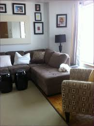 U Shaped Sectional With Chaise Furniture Wonderful U Shaped Sectional Sofa Brown Leather And