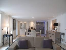 cuisine ouverte sur s駛our chambre enfant salon et cuisine moderne eme appartement moderne