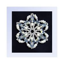 181 best beaded ornament patterns images on