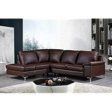 amazon com cortesi home contemporary dallas genuine leather
