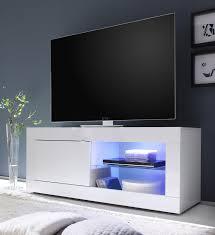 Wohnzimmerm El Mit Led Wohnwand Weiß Hochglanz Lack Italien Caserta36 Designermöbel