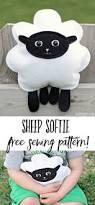 sew a stuffed sheep softie free pattern sheep sewing patterns