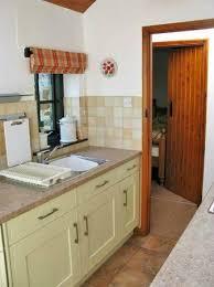 Coastal Cottage Kitchen - shipload cottage patio doors into kitchen picture of yapham