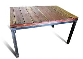 modern reclaimed wood dining table dining room furniture modern