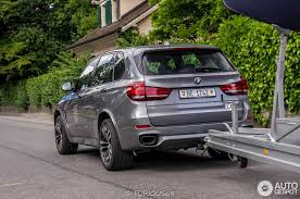 towing with bmw x5 bmw x5 m50d spotted towing a sailboat in geneva autoevolution