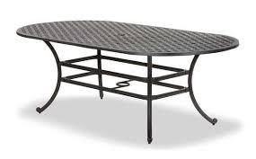 oval aluminum patio table oval aluminum cast table ld10 b afw