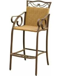 Resin Bistro Chairs Great Deals On Valencia Resin Wicker Steel Bar Bistro Chairs