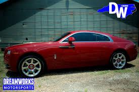 roll royce red john wall u0027s wraith u2014 dreamworks motorsports