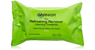garnier the refreshing remover towelettes wipes for normal and