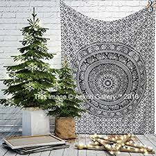 amazon com wall hanging tapestry hippie mandala u2013 wall u0026 picnic