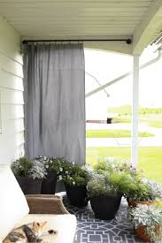 Crate And Barrel Curtain Rods by Outdoor Curtain Rods With Posts Business For Curtains Decoration