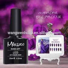 mixcoco new design 192 professional uv gel nail kit girls nail