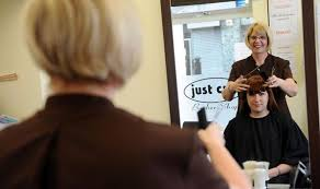 Partially Blind Loyal Customers Stick With Their Partially Blind Hairdresser Uk