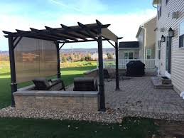 Patio Firepit Diy Paver Patio Pit Pergola Project Time Lapse