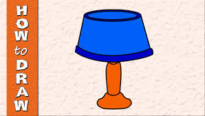Bed Lamp How To Draw A Bed Lamp Kids Drawings Episode 9 Youtube