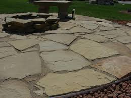 Patio Pavers Cost by Flagstone Vs Stamped Concrete Patio Icamblog