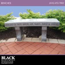 benches for memorial