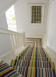 Designs For Runners 15 Striped Stairs Runners Designs For The Hallway Rilane