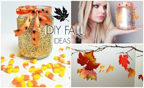 diy home fall decor creative ideas cheap easy to make glitter