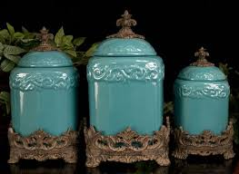 western kitchen canisters design turquoise canisters 195 look in my