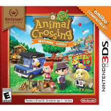 nintendo selects animal crossing new leaf with amiibo card