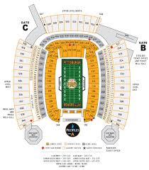 Gillette Stadium Map Heinz Field Pittsburgh Pa Seating Chart View