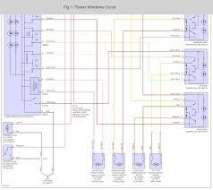 renault megane window motor wiring diagram honda civic wire power 96